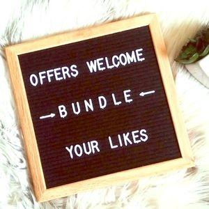 Bundle your likes for serious savings!!